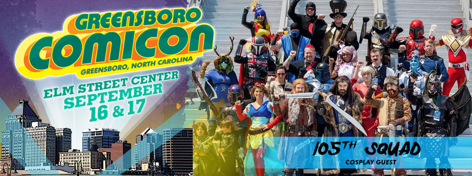 greensboro comicon 105th