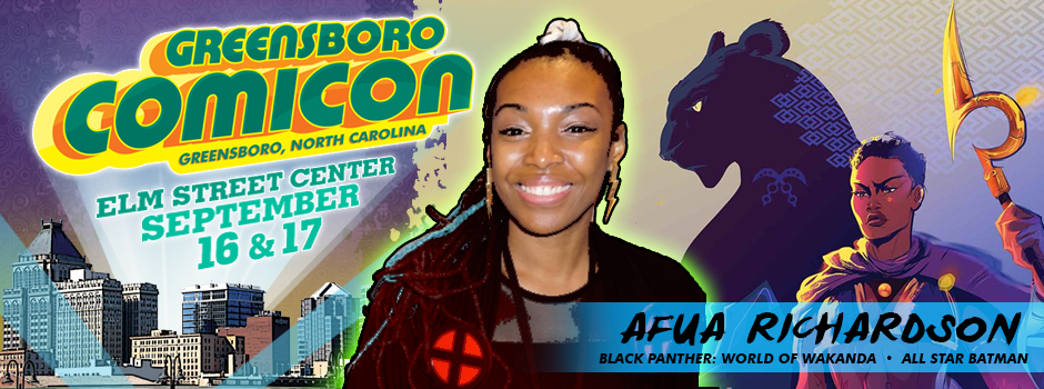 greensboro comicon Afua Richardson