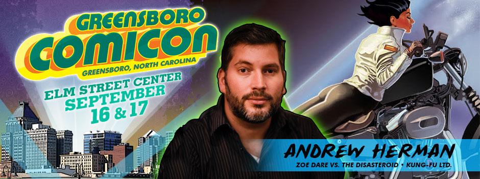 greensboro comicon Andrew Herman