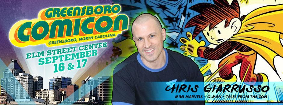 greensboro comicon Chris G