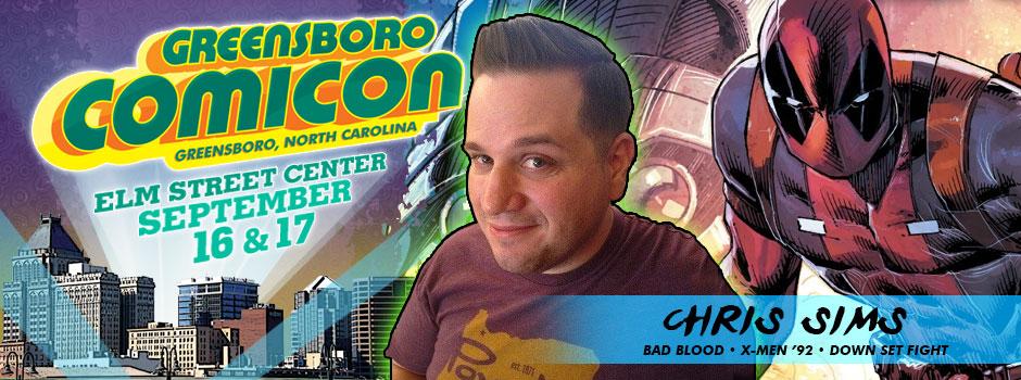 Greensboro comicon Chris Sims