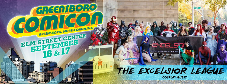 greensboro comicon Excelsior league