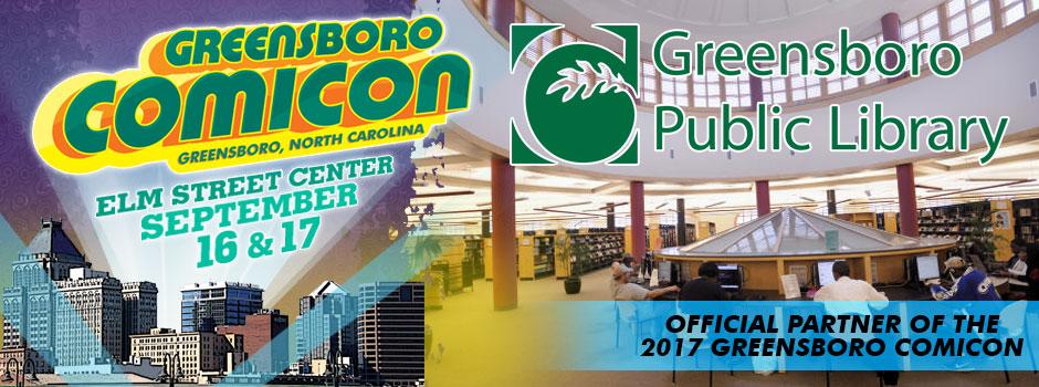 greensboro comicon Greensboro Library
