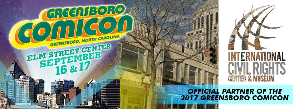 greensboro comicon ICRCM