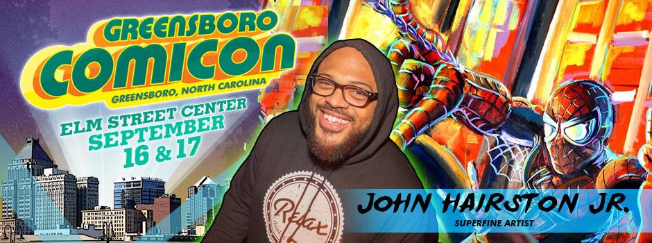 greensboro comicon John hairston