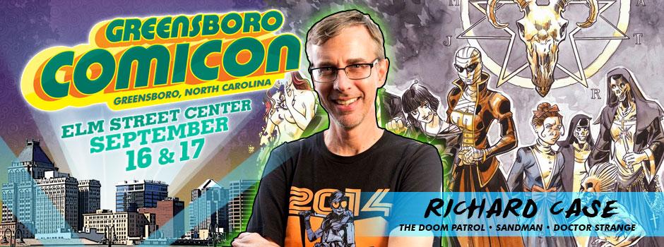 greensboro comicon Richard Case