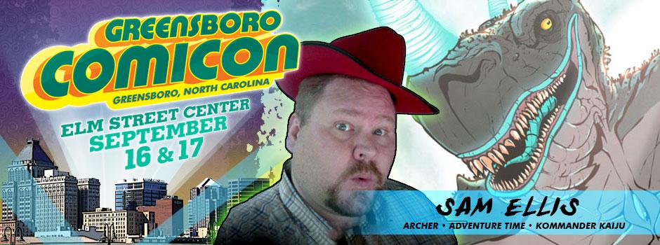 greensboro comicon Sam Ellis