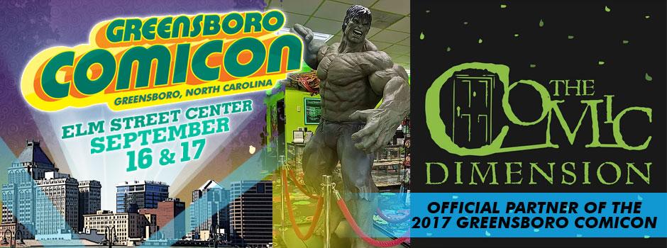 greensboro comicon comic dimension