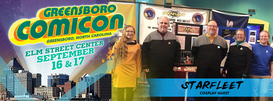 greensboro comicon starfleet