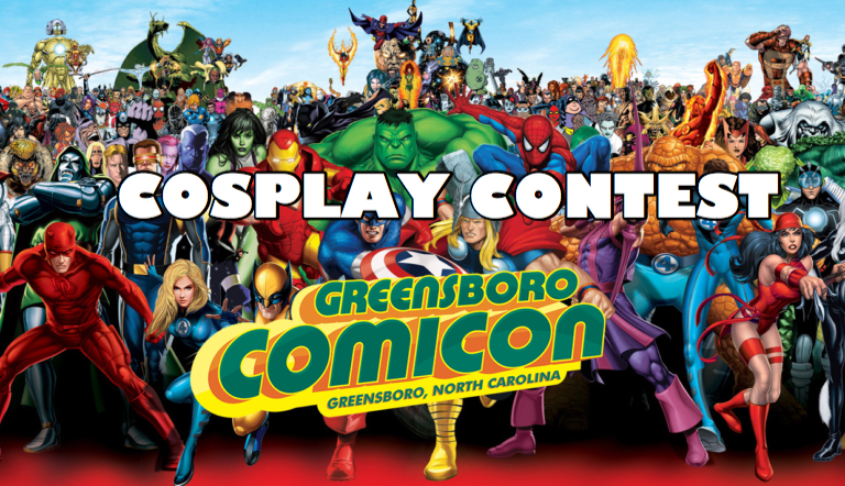 Greensboro comicon cosplay contest