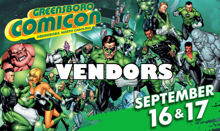 greensboro comicon vendors