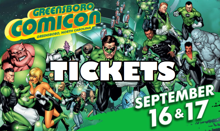 greensboro comicon tickets