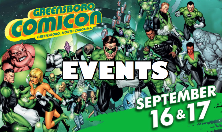 greensboro comicon events logo
